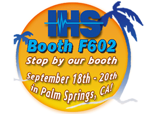 banner ad image to promote the 2014 IHS Conference in Palm Springs, CA