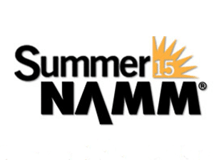 Banner ad with the Summer NAMM logo