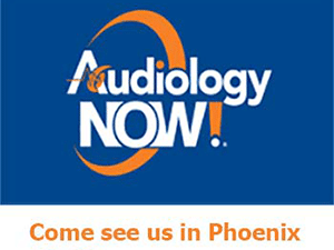 Banner ad image to promote the 2016 Audiology Now conference in Phoenix, AZ
