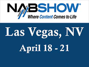 Banner ad image to promote the 2016 NAB Show in Vegas