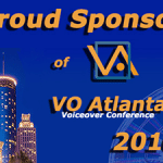 banner ad to promote WhisperRoom's sponsorship of VO Atlanta's 2016 voice-over conference