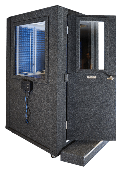 WhisperRoom MDL 4848 S set up as an audiometric booth