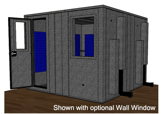 CAD drawing of the WhisperRoom MDL 102102 E