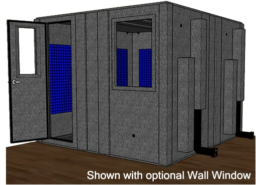 CAD drawing of the WhisperRoom MDL 102102 S