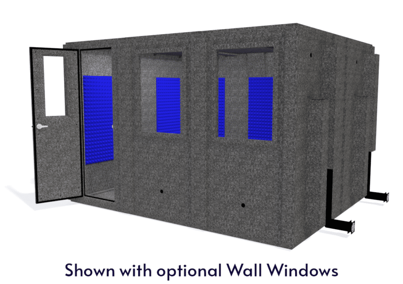 WhisperRoom MDL 102126 S shown from the front with the door open
