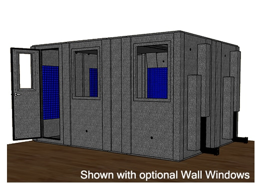 CAD drawing of the WhisperRoom MDL 102144 S