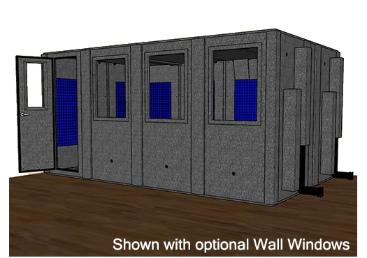 CAD drawing of a WhisperRoom MDL 102168 S