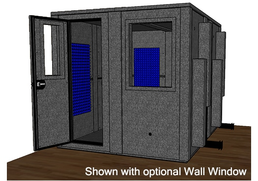 CAD drawing of the WhisperRoom MDL 10284 E
