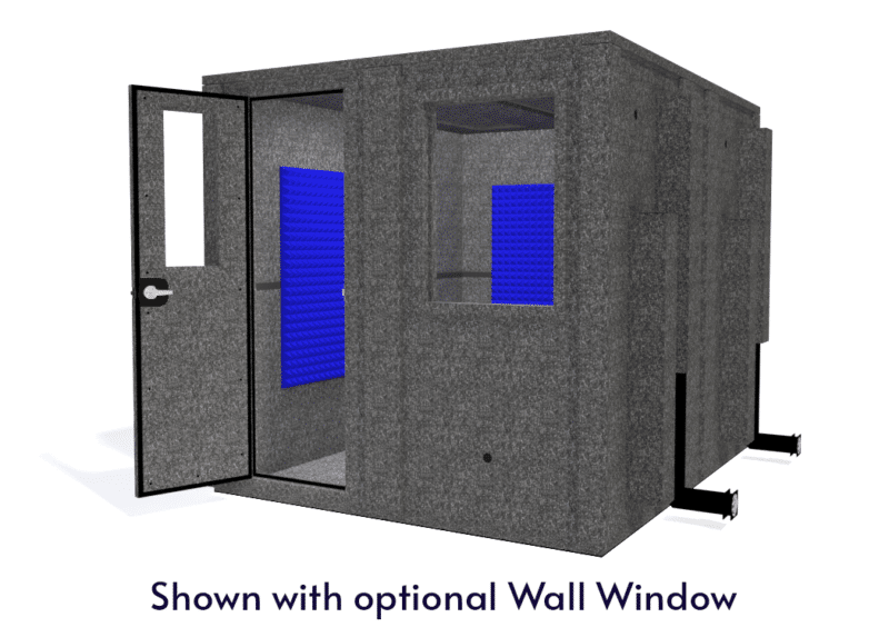 WhisperRoom MDL 10284 E shown with the door open from the front