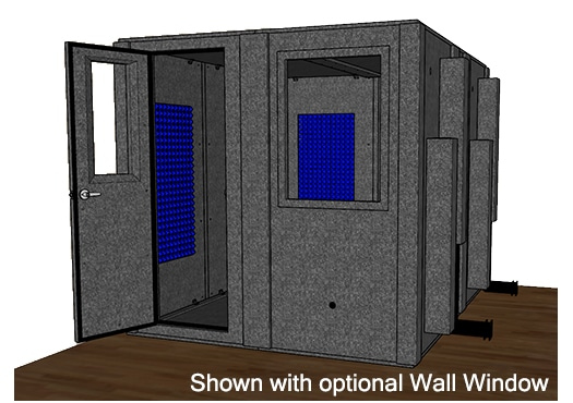 CAD drawing of the WhisperRoom MDL 10284 S