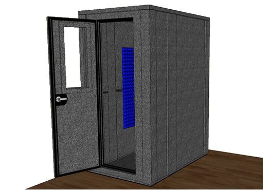 CAD drawing of the WhisperRoom MDL 4260 E