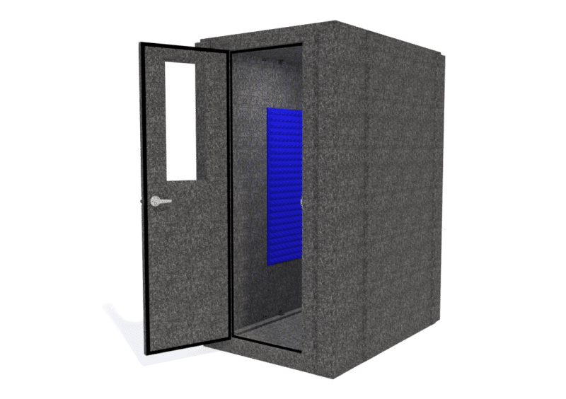 WhisperRoom MDL 4260 shown with the door open from the front