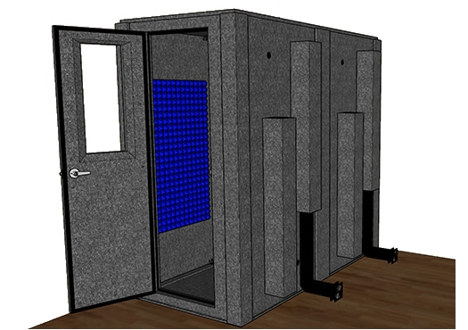 CAD drawing of the WhisperRoom MDL 4284 S