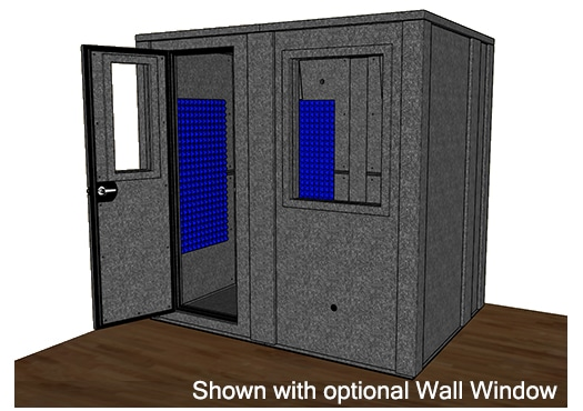 CAD drawing of the WhisperRoom MDL 6084 E