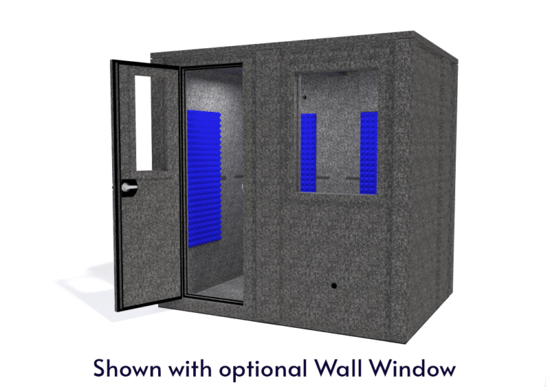 WhisperRoom MDL 6084 E shown with the door open from the front