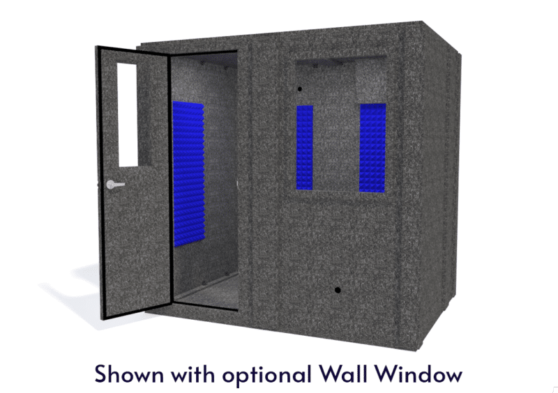 WhisperRoom MDL 6084 S shown with the door open from the front