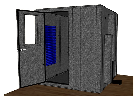 CAD drawing of the WhisperRoom MDL 7272 S