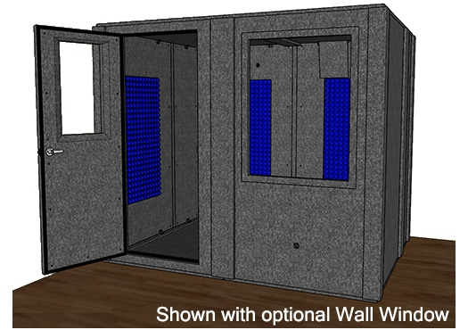 CAD drawing of the WhisperRoom MDL 7296 S
