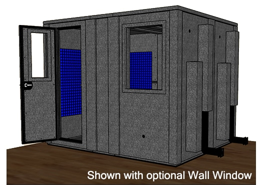 CAD drawing of the WhisperRoom MDL 84102 E