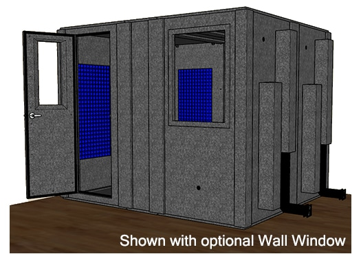 CAD drawing of the WhisperRoom MDL 84102 S