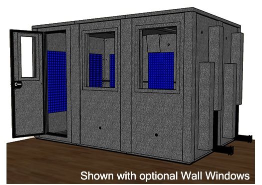 CAD drawing of the WhisperRoom MDL 84126 E