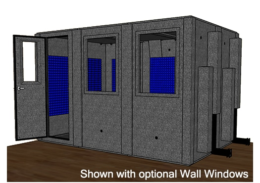 CAD drawing of the WhisperRoom MDL 84126 S