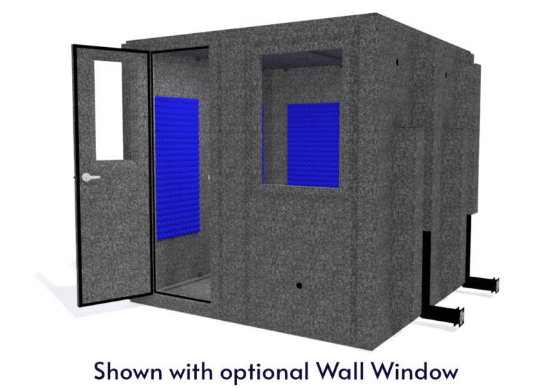 WhisperRoom MDL 8484 S shown with the door open from the front