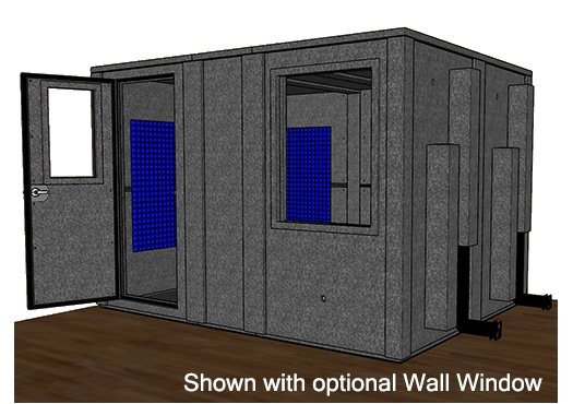 CAD drawing of the WhisperRoom MDL 96120 E