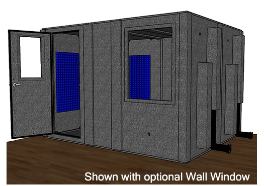 CAD drawing of the WhisperRoom MDL 96120 S