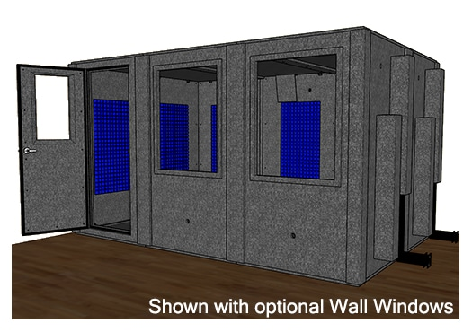 CAD drawing of the WhisperRoom MDL 96144 S