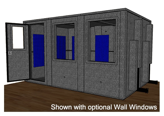 CAD drawing of the WhisperRoom MDL 96144 E