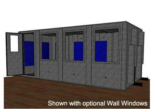 CAD drawing of the WhisperRoom MDL 96192 S