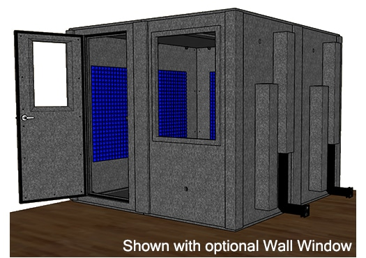 CAD drawing of the WhisperRoom MDL 9696 S