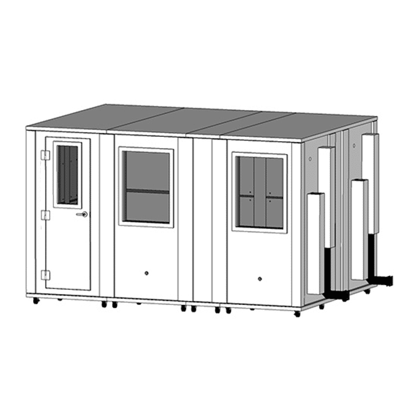 image of a 8.5' x 12' whisperroom booth