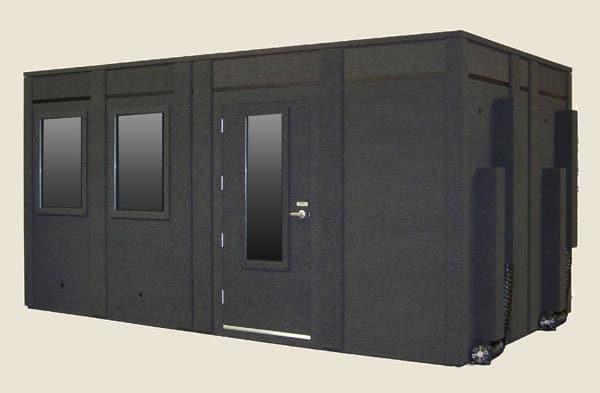 image of a large whisperroom sound isolation enclosure