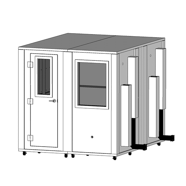 image of a 8.5' x 7' whisperroom sound isolation booth