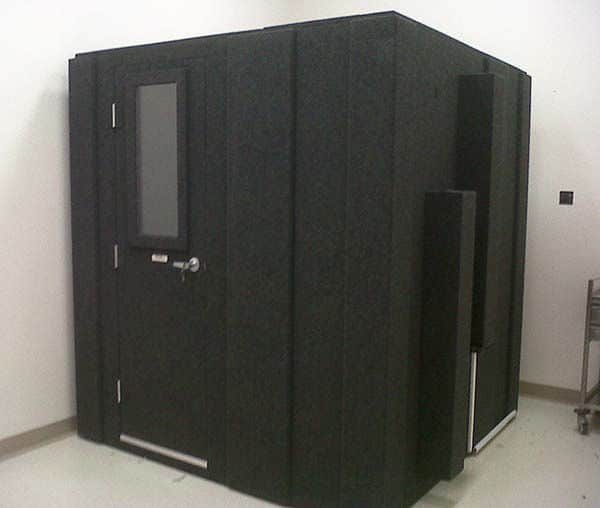 image of a 6' x 6' whisperroom booth