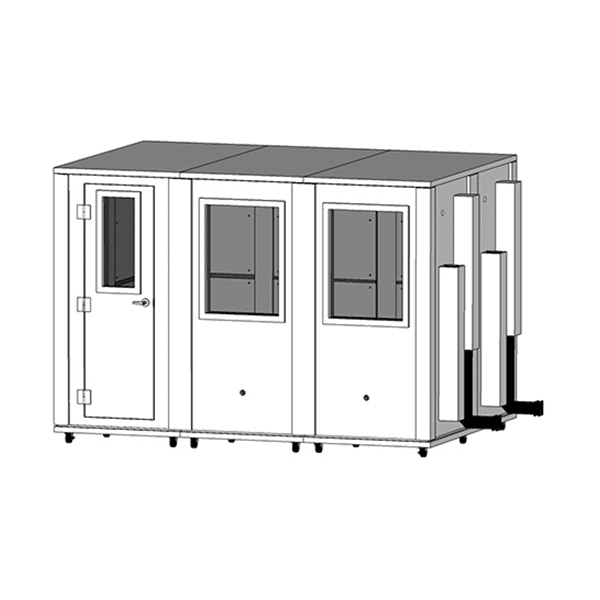 image of a 7' x 10.5' whisperroom booth