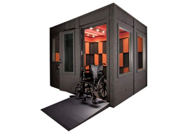 The ADA Package for a WhisperRoom Isolation Booth
