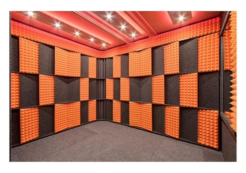 Image of the Acoustic Tuning Package for the interior of a WhisperRoom Sound Booth