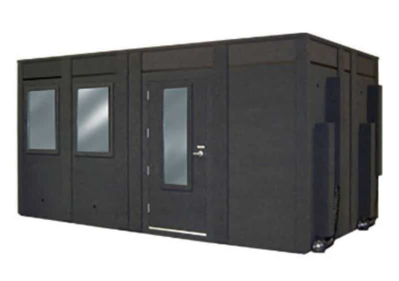 Image of a WhisperRoom with the Height Extension