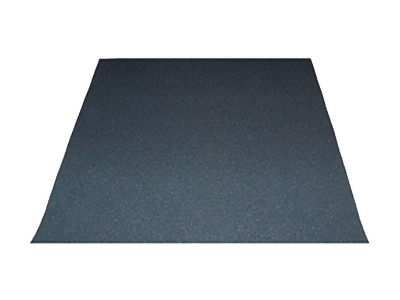 image of a rubber duracoustic mat that helps with sound isolation on the floor