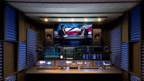 image of a broadcast booth inside of a whisperroom