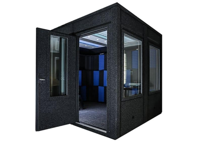 Wide Access Door for a WhisperRoom Sound Isolation Booth