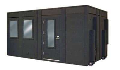 image of a whisperroom booth with additional height extension