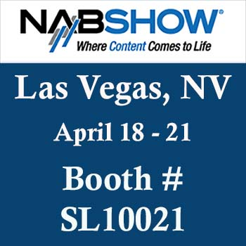image of a banner ad to promote the 2016 NAB Show in Las Vegas