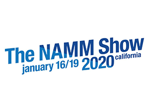 The 2020 NAMM Show logo