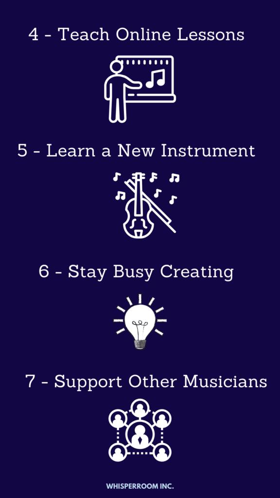 4 tips for musicians