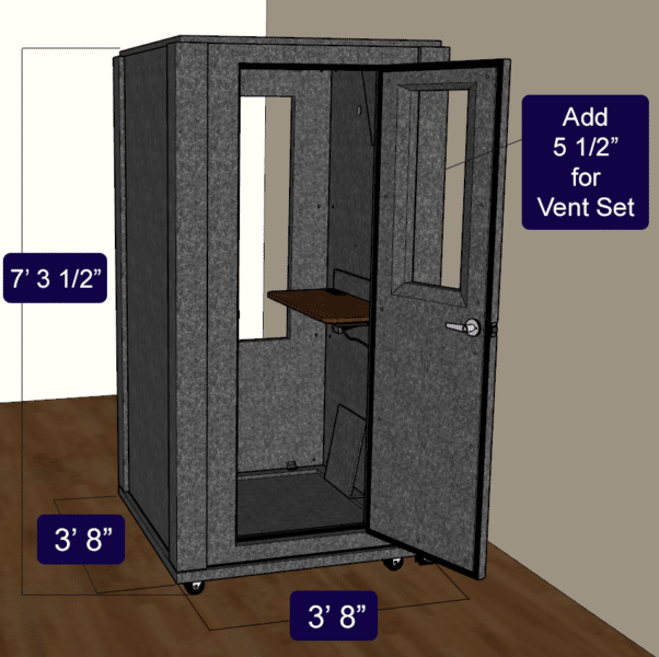 The Office Booth Package by WhisperRoom.