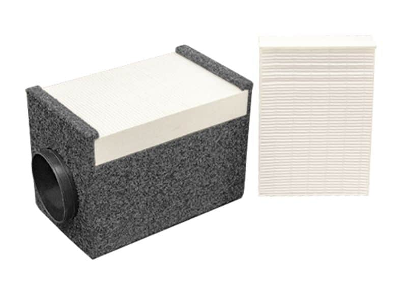 A HEPA Filter for a WhisperRoom Sound Isolation Booth